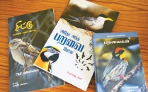 Three Tamil books on birds that were released recently