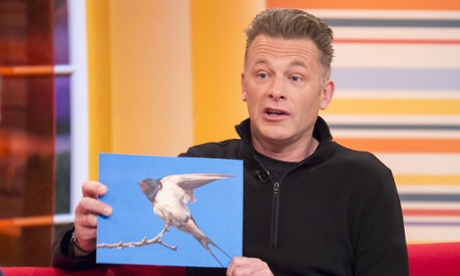 BBC nature presenter Chris Packham. Photograph: Steve Meddle/ITV/REX